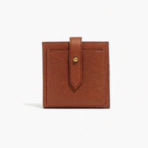 NWT Madewell • The Post Billfold Wallet